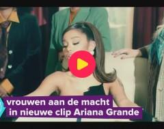 Karrewiet: Ariana Grande is president van de VS in nieuwe clip