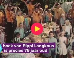 Karrewiet: Pippi Langkous bestaat 75 jaar