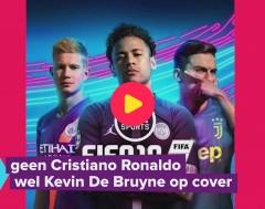 Karrewiet: Geen Ronaldo, wel De Bruyne op Fifa cover