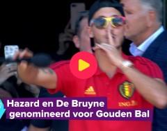 Karrewiet: Winnen De Bruyne of Hazard de Gouden Bal?