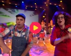 Ketnet Musical: Sander en Goele zingen 'Get up!'