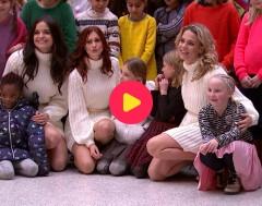 Karrewiet: K3 zingt lied met pleegkinderen