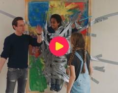 Sturmtroopers: Jules wordt een levend schilderij!