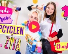 Zita: Oude kleren upcyclen met Zita en Charlotte