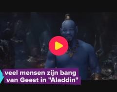 Karrewiet: Geest uit Aladdin maakt mensen bang