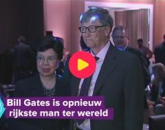 Karrewiet: Bill Gates is opnieuw rijkste man ter wereld