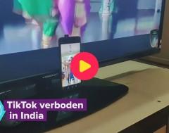 Karrewiet: TikTok verboden in India
