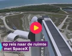 Karrewiet: Grote dag voor SpaceX