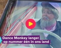 Karrewiet: 'Dance Monkey' staat het langst op één in ons land
