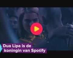 Karrewiet: Dua Lipa is de koningin van Spotify