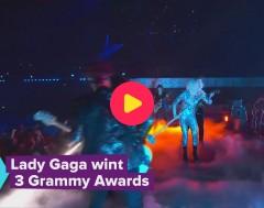 Karrewiet: Lady Gaga wint 3 Grammy's