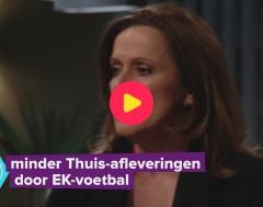 Karrewiet: Minder Thuis-afleveringen door EK-voetbal
