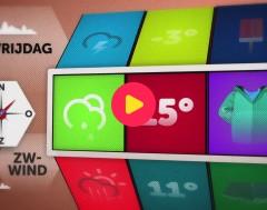 Karrewiet: Het weer voor dinsdag 19 oktober 2017