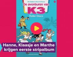 Karrewiet: K3 eerste stripalbum