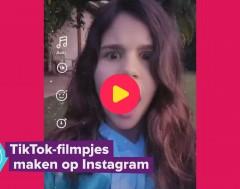 Karrewiet: TikToks maken op Instagram
