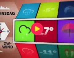 Karrewiet: Het weer voor dinsdag 23 oktober 2017