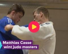Karrewiet: Matthias Casse wint de Masters in het judo!