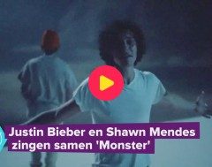 Karrewiet: Shawn Mendes en Justin Bieber zingen samen 'Monster'