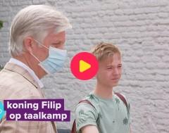 Karrewiet: koning Filip op taalkamp