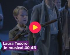 Karrewiet: Laura Tesoro in spektakelmusical '40-45'