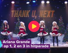 Karrewiet: Straffe stunt van Ariana Grande