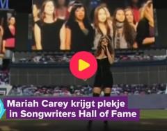 Karrewiet: Mariah Carey krijgt een plekje in de Songwriters Hall of Hame