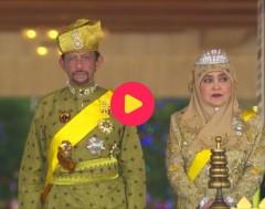 Karrewiet: Sultan van Brunei in ons land