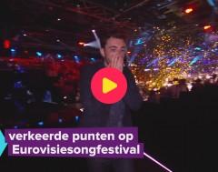 Karrewiet: Foute punten bij het Eurovisiesongfestival