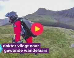 Karrewiet: Dokter vliegt naar wandelaars is nood