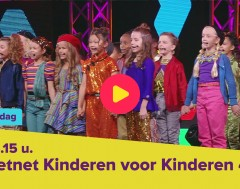 Kijk vrijdag naar de show van Kinderen voor Kinderen