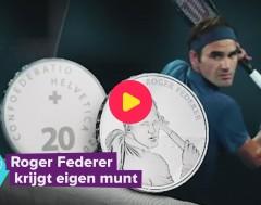 Karrewiet: Roger Federer krijgt een eigen munt