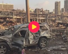 Karrewiet: Zware explosie in Beiroet