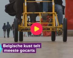 Karrewiet: Nergens zo veel gocarts als aan de Belgische kust