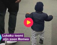 Karrewiet: Lukaku post een foto met zijn zoontje