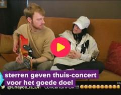 Karrewiet: Artiesten geven concert voor de webcam