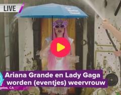 Karrewiet: Lady Gaga en Ariana Grande zijn even weervrouwen