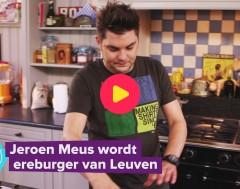Karrewiet: Jeroen Meus wordt ereburger van Leuven