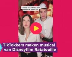 Karrewiet: TikTokkers maken musical van Disneyfilm Ratatouille