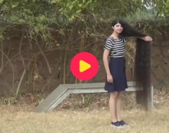 Karrewiet: Nilanshi (17) uit India heeft langste haar ter wereld