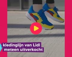 Karrewiet: Lidl-kleding meteen uitverkocht