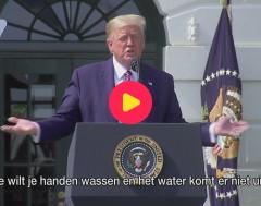 Karrewiet: Trump wil fellere douches voor zijn haar