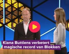 Karrewiet: Kiana is de enige echte Blokken-kampioen!
