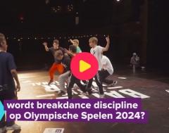 Karrewiet: Breakdance een Olympische sport?