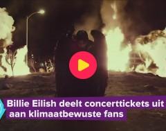 Karrewiet: Billie Eilish steunt klimaat