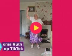 Karrewiet: Oma is TikTok-ster