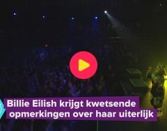 Karrewiet: Billie Eilish krijgt kwetsende opmerkingen over haar uiterlijk