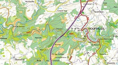 topografische kaart Kamp X Treem: Waarop let ik bij het lezen van een topografische