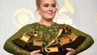 Adele met Grammy's