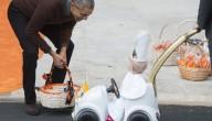 Obama viert Halloween