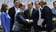 President Hollande en Ban Ki Moon